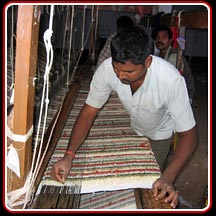 Shaggy Rug Weaving
